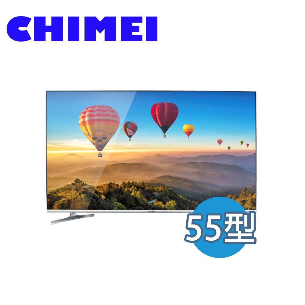【CHIMEI 奇美】55吋 智慧 聯網 液晶顯示器 液晶電視 TL-55R300
