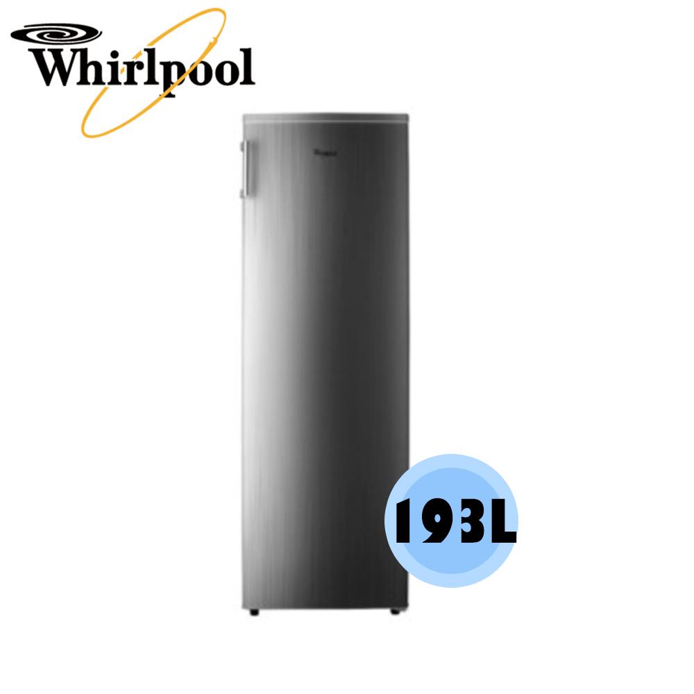 可議價【Whirlpool 惠而浦】193 公升 直立式 無霜冷凍櫃 WIF1193G