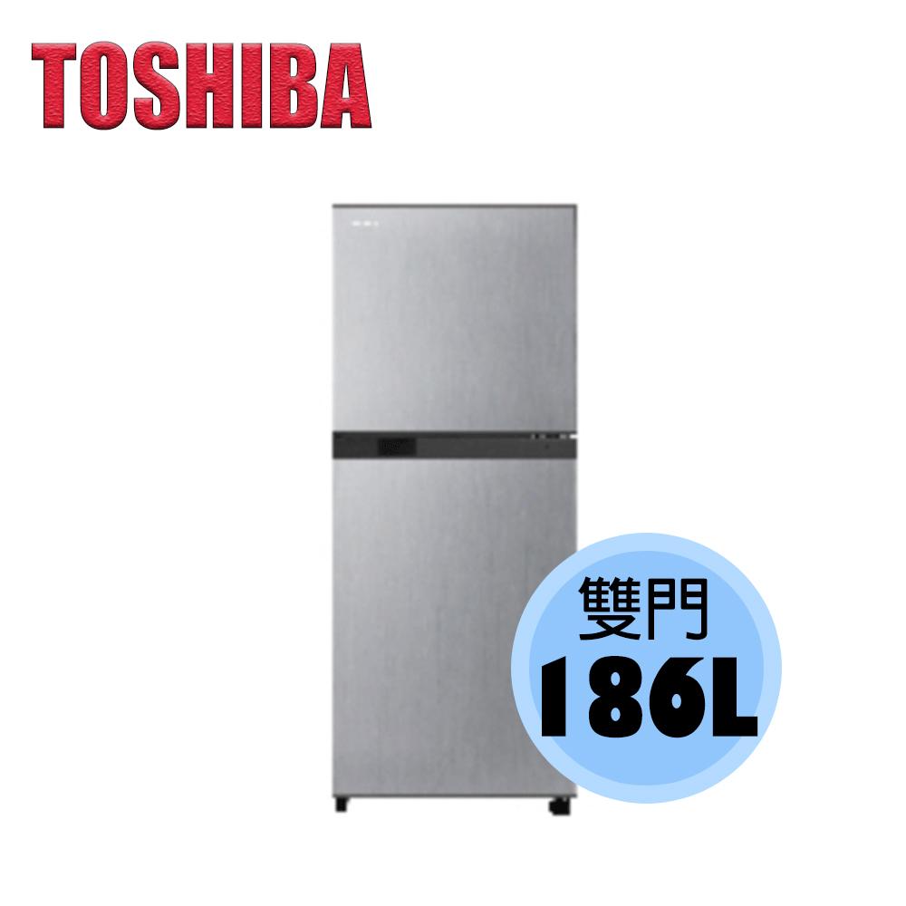 【TOSHIBA 東芝】 186公升 變頻 雙門電冰箱 (典雅銀) GR-M25TBZ (S)