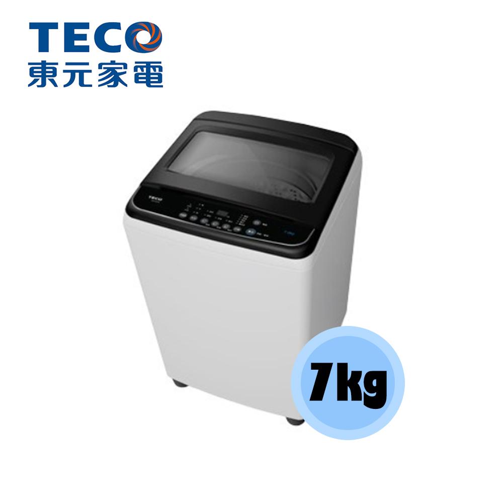 【TECO 東元】7KG 直立 定頻 洗衣機 W0702FB