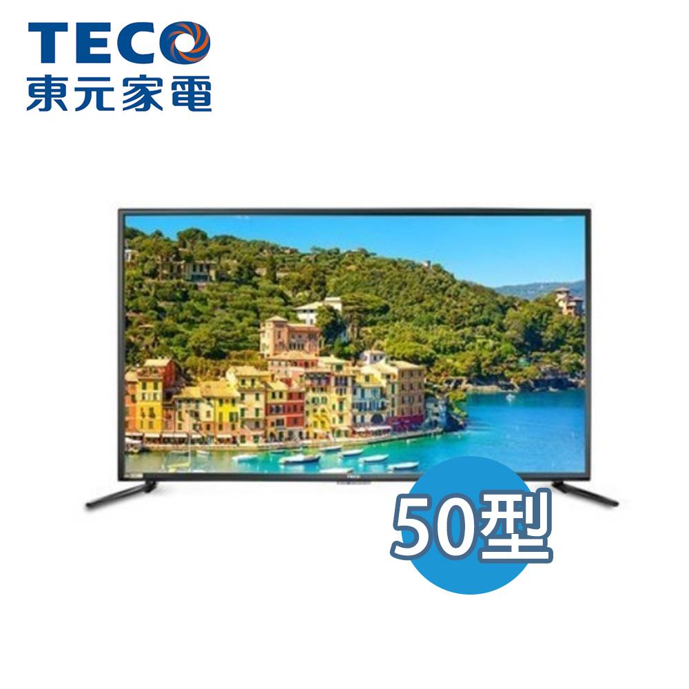 【TECO 東元】 50型 4K 液晶顯示器 TL50U3TRE